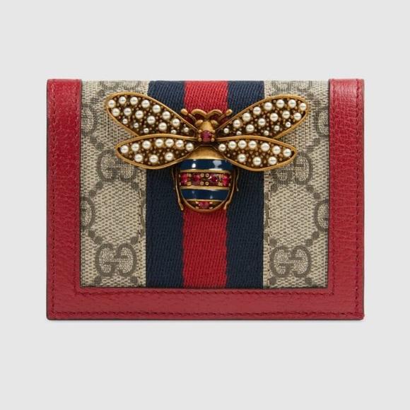 499255255941 Gucci Bags | Queen Margaret Gg Card Case Wallet | Poshmark